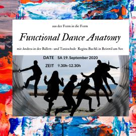 Funktionell Dance Anatomy – von Ballett bis Tango