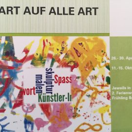Andrea Naayer wirkt bei ART auf alle Art mit